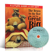【全店300减100】英文原版绘本 The Bears in the Bed and the Great Big Sto