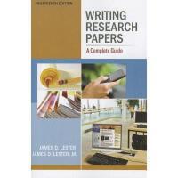 【预订】Writing Research Papers: A Complete Guide