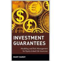 【预订】Investment Guarantees: Modeling And Risk Management