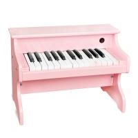 木质电钢琴儿童电子琴宝贝小女孩玩具0-1-3岁启蒙音乐礼物