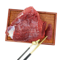 农谣 驴肉 新鲜现杀土驴肉 非鹿肉 500g装 生鲜肉烧烤食材