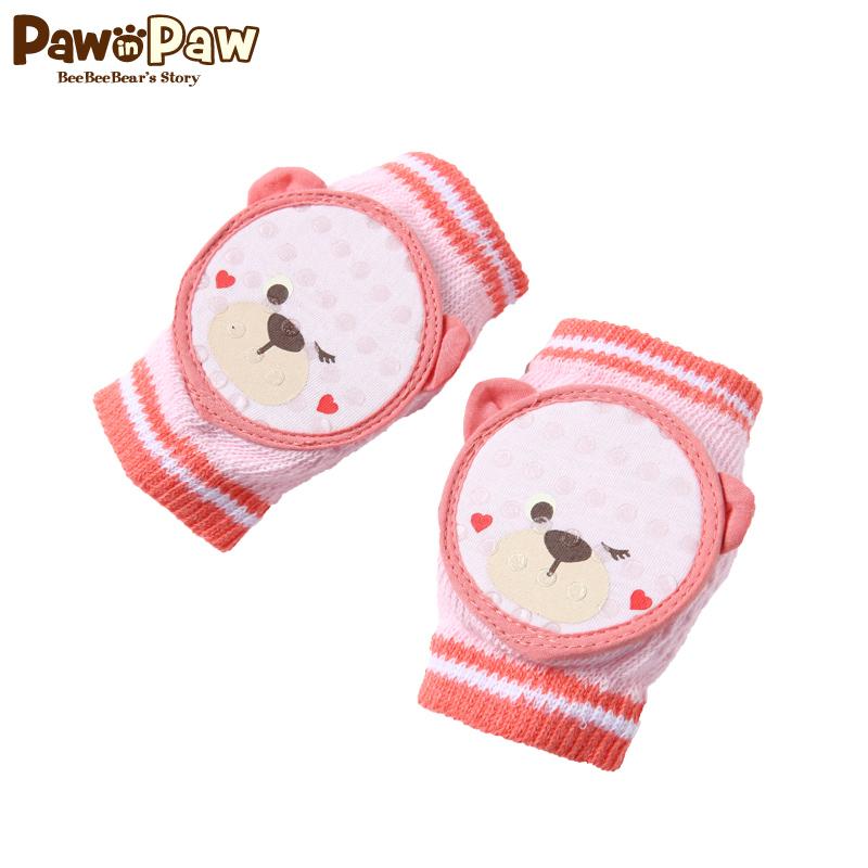 【2件2.5折 到手价:27】Pawinpaw卡通小熊童装婴幼儿护肘学步爬行防摔透气护膝