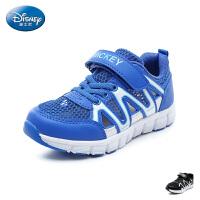 迪士尼Disney童鞋18新款儿童单网运动鞋男童休闲鞋舒适透气跑步鞋(9-13岁可选) S73724