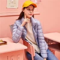 东大门羽绒服女短款轻薄时尚修身2018冬季新款韩版潮小个子外套