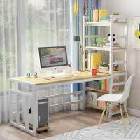 电脑桌台式家用组合一体学生学习卧室书桌简约现代写字桌办公桌子
