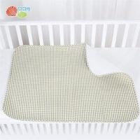 贝贝怡新生儿隔尿垫宝宝推车垫吸湿透气易干初生儿床垫中码隔尿垫