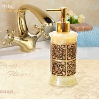 树脂酒店沐浴露洗手液瓶子创意洗发水按压瓶分装瓶乳液器欧式