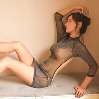 情趣睡衣性感骚开档免脱睡裙激情套装透明内衣诱惑丝袜变态挑逗