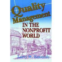 【预订】Quality Management in the Nonprofit World