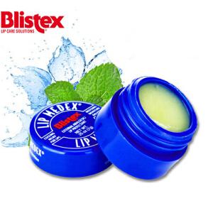 Blistex小蓝瓶滋润保湿锁水淡化唇纹软化角质修护脱皮干裂润唇膏/7g*1瓶