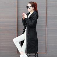 棉衣外套中长款女冬季女士修身百搭棉袄韩版轻薄羽绒