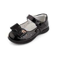 女童皮鞋春夏小公主鞋3镂空单鞋好搭学生鞋蝴蝶结