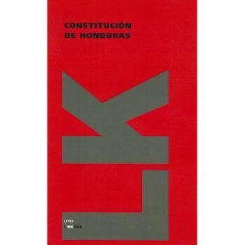 【预订】Constitucion de Honduras 美国库房发货,通常付款后3-5周到货!