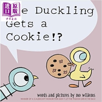 【中商原版】Mo Willems:鸽子系列之小鸭有曲奇 Pigeon 获奖名家作品 鸽子系列 幼儿早教绘本故事书 情商启