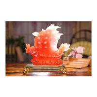 家居客厅装饰品电视柜摆设开业礼品创意家居摆件帆船摆件现代简约工艺品