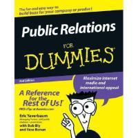 【预订】Public Relations For Dummies, 2Nd Edition