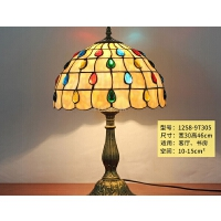 欧式台灯卧室床头灯创意浪漫温馨餐厅酒吧小台灯家用