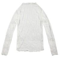 春装新款百搭半高领蕾丝衫女长袖内搭打底衫时尚女韩版小上衣 均码 面料有弹力 可内穿可外搭