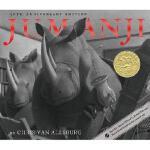 【现货】英文原版 Jumanji 30th Anniversary Edition 逃出魔幻纪30周年精装纪念版 同名