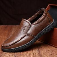 2017夏季新款爆品男鞋透气男士商务休闲皮鞋软皮软底爸爸鞋工作真皮鞋36274JLF支持