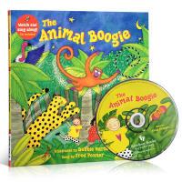 英文原版童书The Animal Boogie Debbie Harter +CD廖彩杏