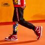 【2件3折到手价:61.5元】小虎宝儿男童裤子潮韩版2020秋装新款儿童运动哈伦裤宝宝洋气长裤