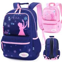 迪士尼书包小学生女孩9-15岁儿童双肩包冰雪奇缘3-6年级女童背包5