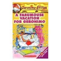 英文原版 A Fabumouse Vacation for Geronimo 老鼠记者的假期