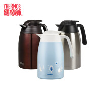 THERMOS/膳魔师真空不锈钢保温杯保温壶便携大容量户外热水壶THV-1500