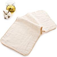 三利 纯棉高密度纱布婴幼儿尿布2条装 A类标准 透气防渗透 宝宝护理隔尿垫 20×47cm