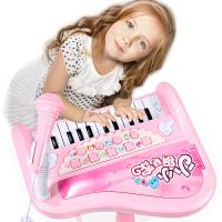 宝宝电子琴玩具0-1-3岁音乐可弹奏婴幼儿童早教智力钢琴女孩女童