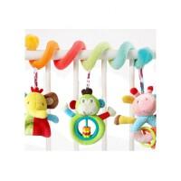 婴儿床绕玩具推车挂件床铃床头摇铃婴儿房床装饰玩具幼儿玩具