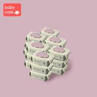 手口湿巾80抽带盖*12婴儿手口专用湿巾宝宝湿纸巾