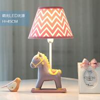 小马可调光LED台灯卧室床头灯 温馨浪漫创意儿童房 可爱生日礼物 调光开关