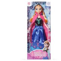 艾莎公主娃娃玩具爱莎洋娃娃玩具女孩换装冰雪公主爱沙单个玩具 11关节妹妹安娜公主 送14件 30CM