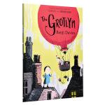 【中商原版】看不见的怪物 英文原版 The Grotlyn 神秘的格洛克林 儿童故事绘本 韵文故事 4-9岁