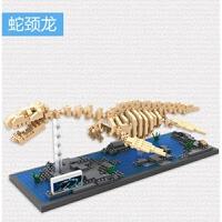 LOZ小颗粒钻石积木 *骨架益智拼装模型玩具 9027蛇颈龙 9027蛇颈龙