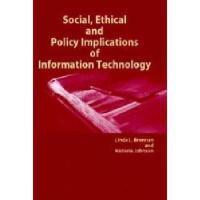 【预订】Social, Ethical and Policy Implications of
