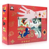 莎林礼盒装纹身贴 - 中国年 纹身贴、指甲贴