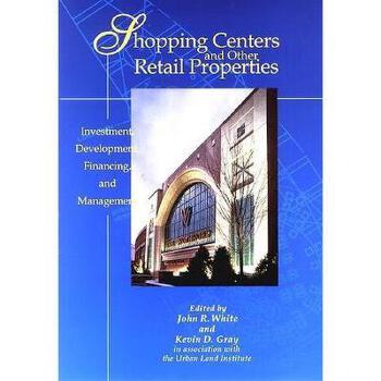【预订】Shopping Centers And Other Retail Properties: 美国库房发货,通常付款后3-5周到货!