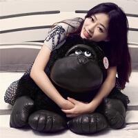 大猩猩毛绒玩具公仔黑猩猩猴子布娃娃抱枕生日礼物女生男孩礼品