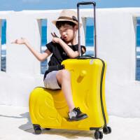 儿童行李箱可坐可骑2024寸男女旅行箱宝宝密码万向轮拉杆箱