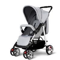 20190704054536002婴儿推车高景观轻便可坐可躺折叠避震四轮宝宝婴儿车手推车