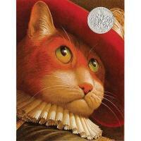 英文原版儿童书 Puss in Boots 穿靴子的猫 1991年凯迪克银奖