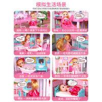女童过家家小女孩晴雪芭比公主娃娃家3-6岁10城堡仿真别墅玩具屋7