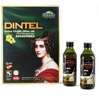 登鼎 欧雅特级初榨橄榄油礼盒 500mlx2 西班牙原装进口