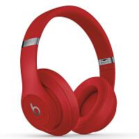 【当当自营】Beats Studio3 Wireless 录音师无线3代 头戴式 蓝牙无线降噪耳机 游戏耳机 - 红色