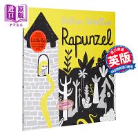 【中商原版】Bethan Woollvin Rapunzel 长发公主 精品绘本 儿童童话故事性格启蒙绘本睡前读物 平装