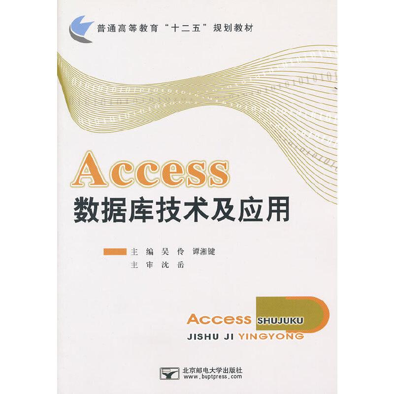 Access数据库技术及应用 PDF下载