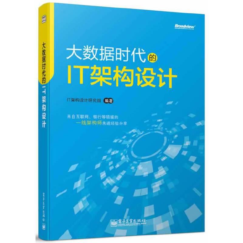 大数据时代的IT架构设计 PDF下载